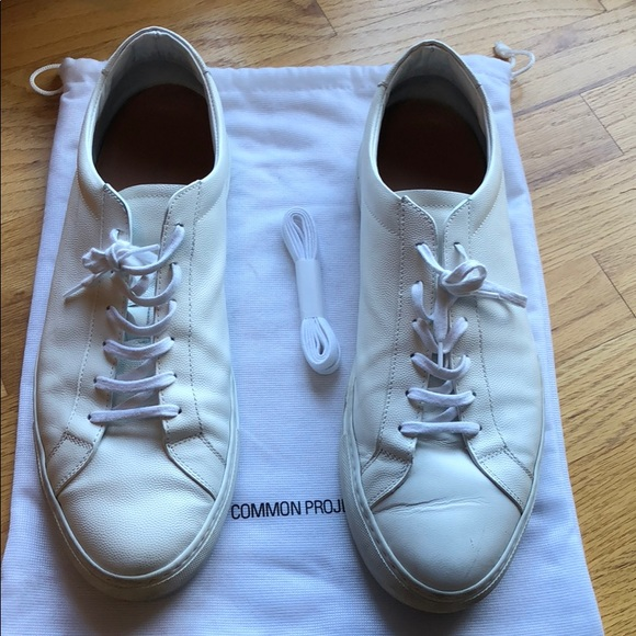 e41620450734 Common Projects Other - Common Projects Achilles Pebble grained sz 46